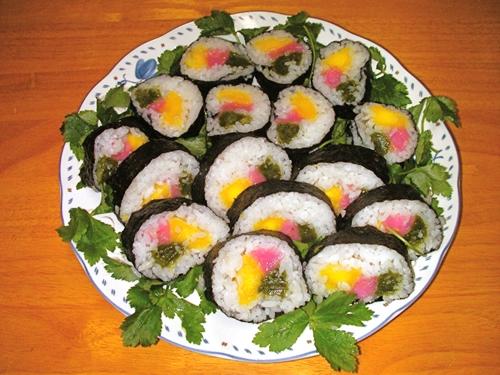 白玉の花寿司