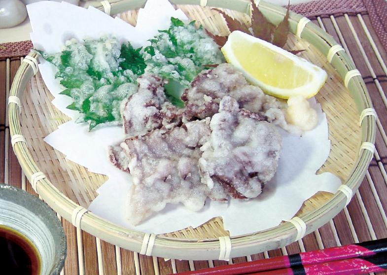 牛肉の天ぷら風
