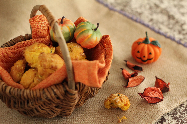 かぼちゃのもちもちスコーン風クッキー
