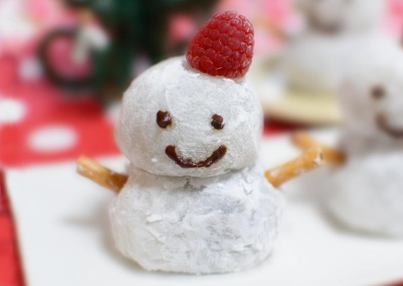 雪だるま大福