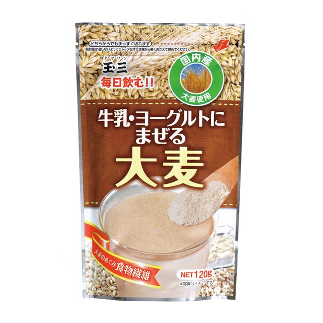 玉三 牛乳ヨーグルトにまぜる大麦